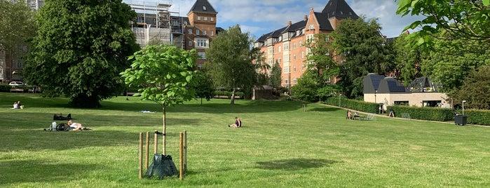 Skanseparken is one of Aarhus.