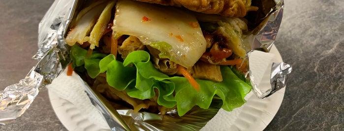 Korean Prime Burgers is one of Бургеры в Питере.