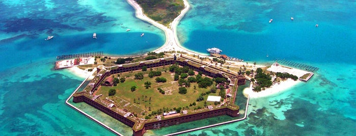 Dry Tortugas National Park is one of National Recreation Areas.