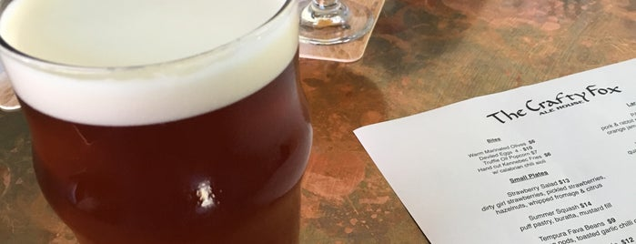 The Crafty Fox Ale House is one of SF Drinks (& Eats).