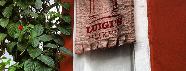 Luigi's is one of Curtindo a Noite Carioca.