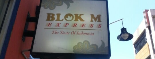Blok M Express is one of Melbourne.