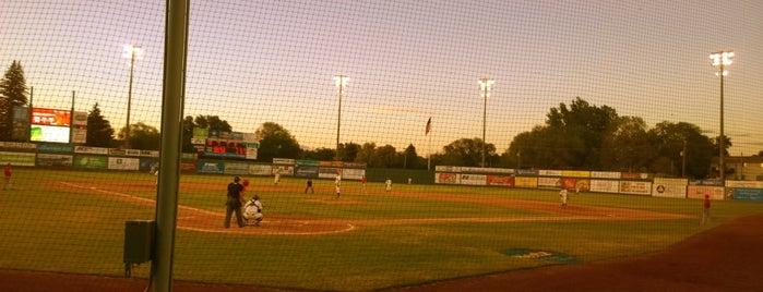 Melaleuca Field is one of Minor League Ballparks.