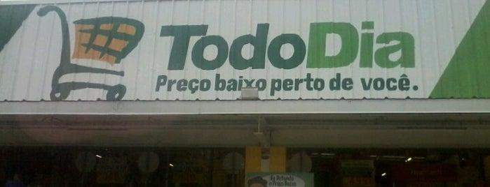 Supermercado Todo Dia is one of Locais curtidos por Adriana Costa.