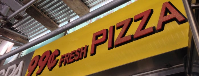 99¢ Fresh Pizza is one of Frank E.'in Kaydettiği Mekanlar.