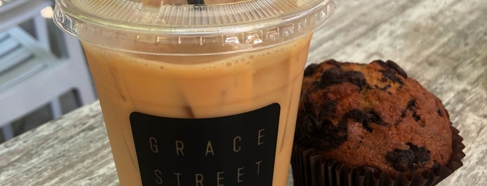 Grace Street Coffee is one of A + P Hit DC.