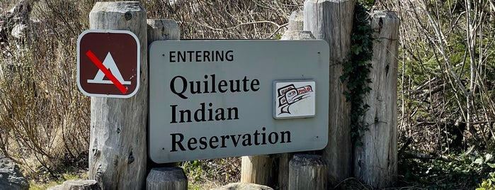 Quileute Indian Reservation is one of Native American Cultures, Lands, & History.