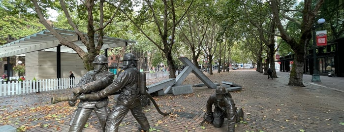 Seattle Firefighters Memorial is one of Sculpture.