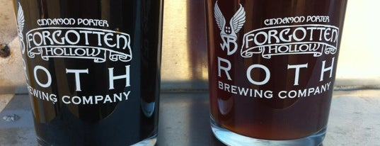 Roth Brewing Company is one of Raleigh Favorites.