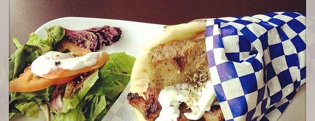Santorini Cafe is one of Austin Food.