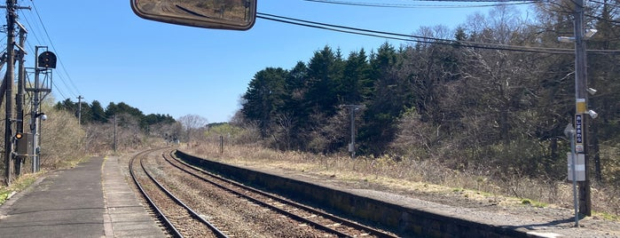 Oshima-Sawara Station is one of JR 홋카이도역 (JR 北海道地方の駅).