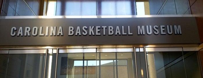 The Carolina Basketball Museum is one of Lieux qui ont plu à Jordan.