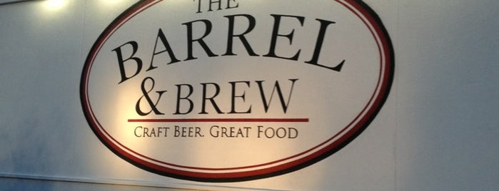 The Barrel And Brew is one of Orte, die Tom gefallen.