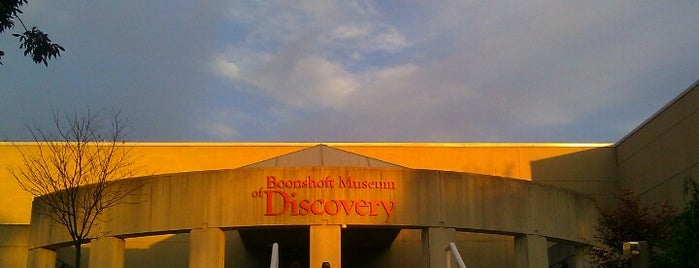 Boonshoft Museum Of Discovery is one of Lieux sauvegardés par Andrew.