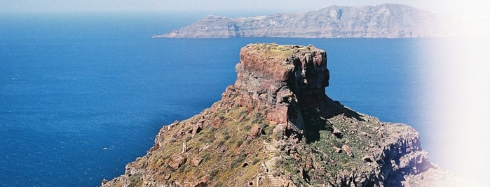 Skaros is one of Santorini 2017 - trip list.