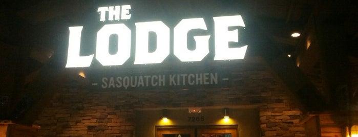 The Lodge is one of Orte, die Angela gefallen.