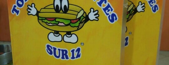 tortas gigantes sur 12 is one of TORTAS & SANDWICH.