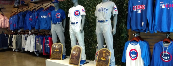 Chicago Cubs Flagship Store is one of Lugares favoritos de Sergio M. 🇲🇽🇧🇷🇱🇷.