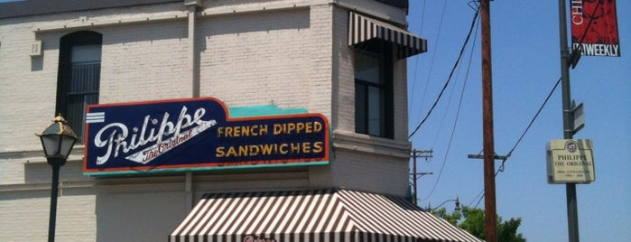 Philippe The Original is one of Pacific Old-timey Bars, Cafes, & Restaurants.