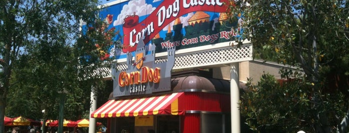 Corn Dog Castle is one of Disneyland MUST Eats!.