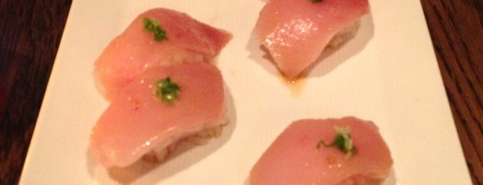 SUGARFISH by sushi nozawa is one of food to try.