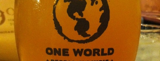 One World Eats & Drinks is one of Best Grub.