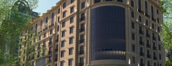 Radisson Blu Hotel Istanbul Sisli is one of Oteller.
