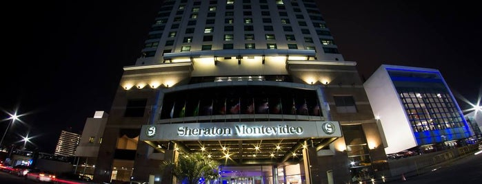 Sheraton Montevideo Hotel is one of Montevideo.