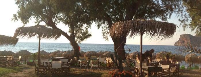 Rodakino Beach Bar is one of Crete.