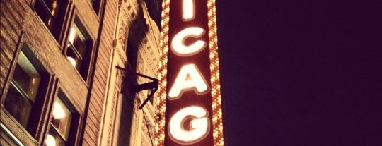 The Chicago Theatre is one of Historic Route 66.