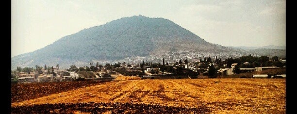 Tavor Mountain (הר תבור) is one of Holyland Tour.