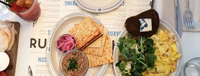 Russ & Daughters Café is one of NYC + Brooklyn - Best Hits.