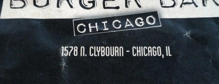 Burger Bar is one of How to chill in ChiTown in 10 days.