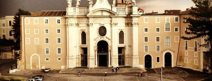 Basilica di Santa Croce in Gerusalemme is one of Roma Lovers.