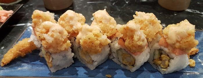 Hanako Sushi is one of สถานที่ที่ Nadya ถูกใจ.