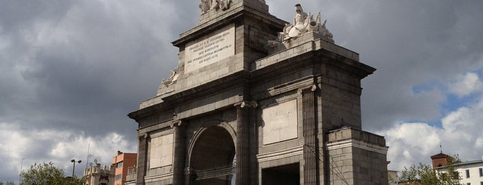 Puerta de Toledo is one of Madrid.