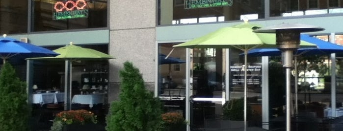 Hemenway's Seafood Grille & Oyster Bar is one of PXP.