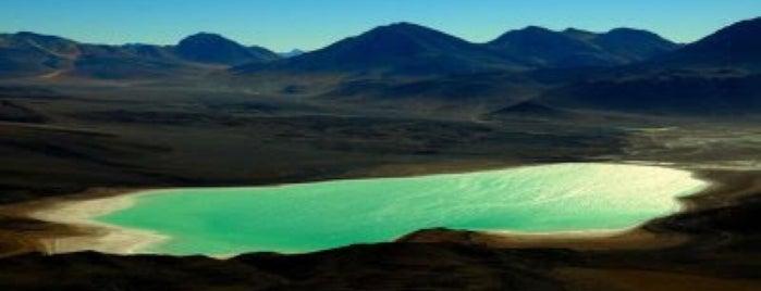 Laguna verde is one of Lugares donde he estado.