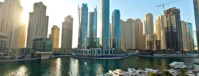 InterContinental Dubai Marina is one of Jelle 님이 좋아한 장소.