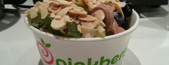 Pinkberry is one of Lieux qui ont plu à Paige.