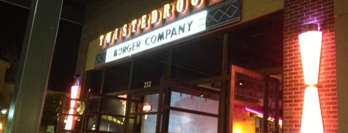 Twisted Root Burger Co is one of Locais curtidos por Macey.