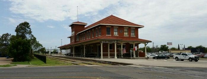 Railway Museum of San Angelo is one of Lugares favoritos de Scott.