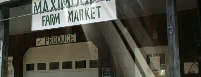 Maximuck's Farm Market is one of Date night.