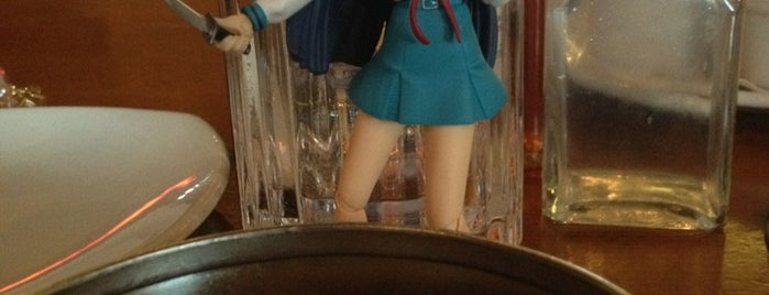P.F. Chang's is one of The Travelogue of Haruhi Suzumiya 涼宮ハルヒの旅日記.