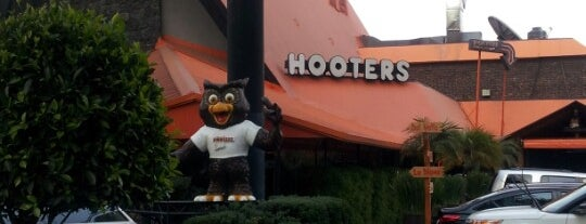 Hooters is one of I have to....