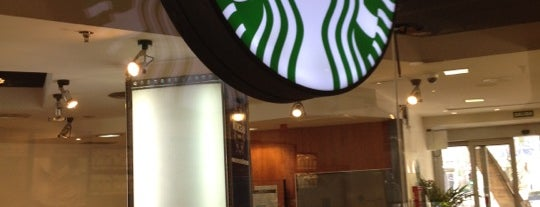 Starbucks is one of Mis sitios.