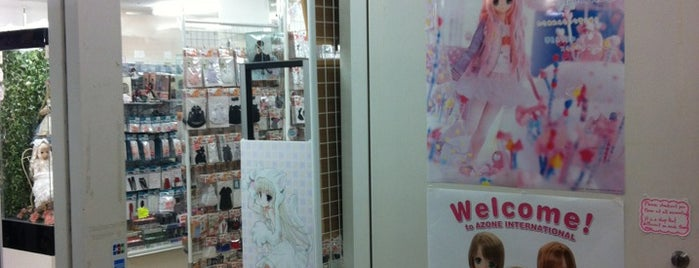 Azone Labelshop is one of Tokyo.