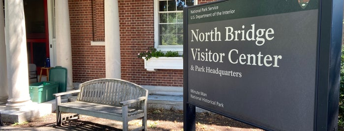 Old North Bridge Visitor Center is one of Revolutionary War Trip.