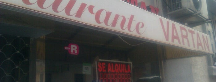 Vartan Restaurante Armenio is one of AUnaMilla (2).