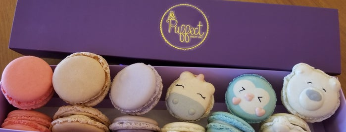 Puffect Bakery is one of LAX.